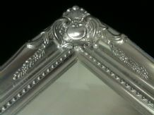 Large Bright Silver Mirror - CHOOSE YOUR SIZE